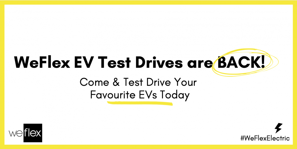 WeFlex EV Test Drives